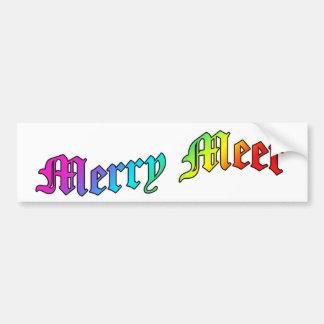 Merry Meet BumperSticker Bumper Sticker