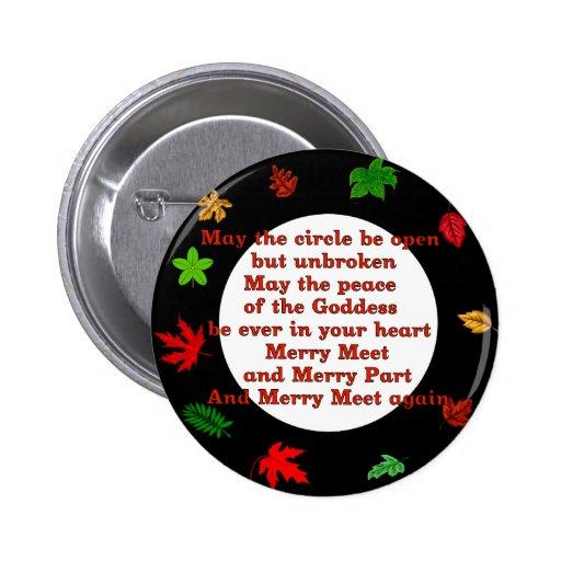 Merry Meet Pinback Button