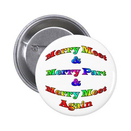 Merry Meet Buttons