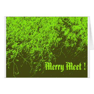 Merry Meet Card