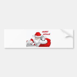 Merry Mixmas Bumper Sticker