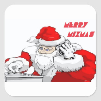 Merry Mixmas Square Sticker