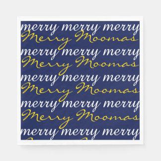 """Merry Moomas"" Paper Napkins"