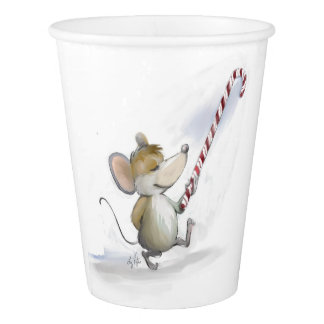 Merry Mouse Moe Paper Cup