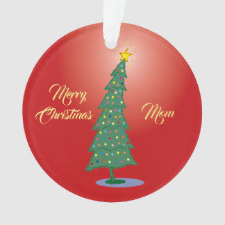 Merry Oh! Christmas Tree Ornament