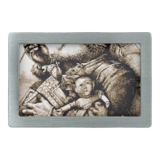 Merry Old Santa Belt Buckles