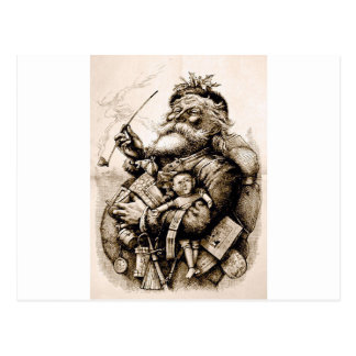 Merry Old Santa Postcard