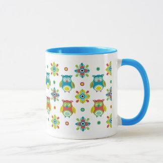 Merry owls mug