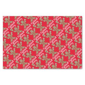 Merry Pickleball Tissue Paper