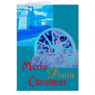 Merry Prairie Christmas Card