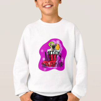 Merry Pugly Christmas Sweatshirt