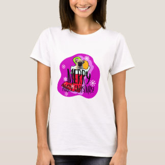 Merry Pugly Christmas T-Shirt