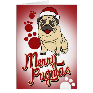Merry Pugmas! Card