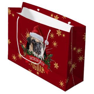 Merry Pugmas Gift Bag