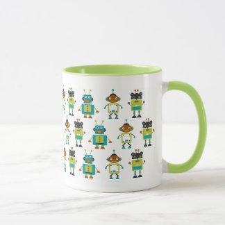 Merry robots mug