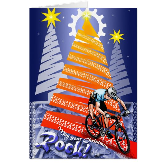 Merry RockMas to you Card