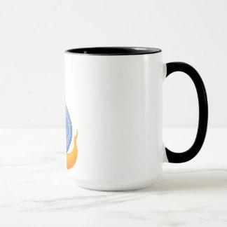 Merry snail mug
