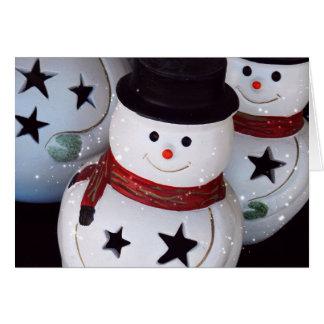 Merry Snowmen Cards