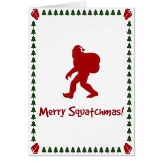 Merry Squatchmas! (Christmas Card)
