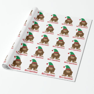 Merry Squatchmas! Gift Wrap Paper
