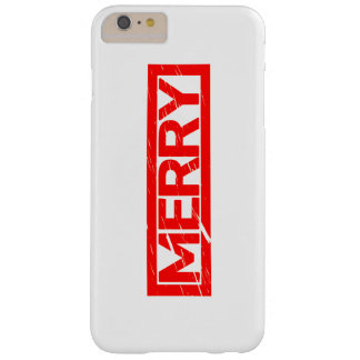 Merry Stamp Barely There iPhone 6 Plus Case