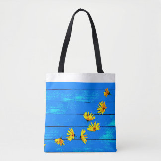 merry-summer bag in blue and yellow