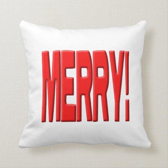 Merry! Throw Pillow