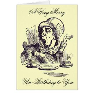 Merry Un-Birthday Card