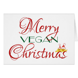 Merry Vegan Christmas Card