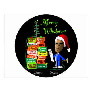 Merry Whatever Postcard