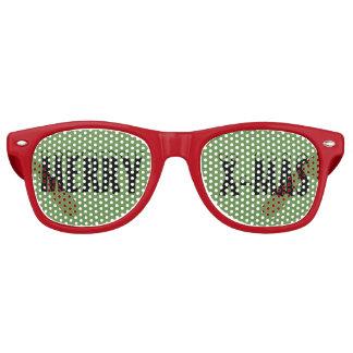 Merry X-Mas Adult Retro Party Sunglasses