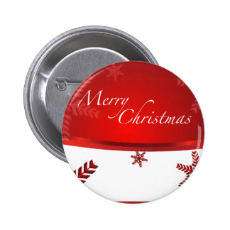 Merry Xmas 2 Inch Round Button