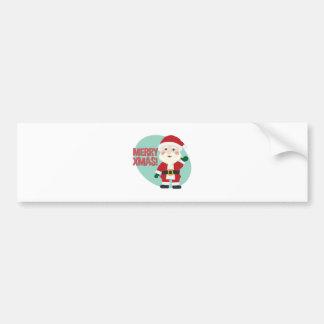 Merry Xmas Bumper Sticker