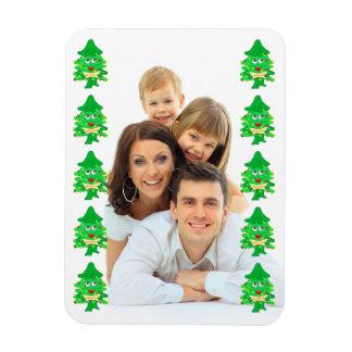 Merry Xmas Christmas Tree Magnet