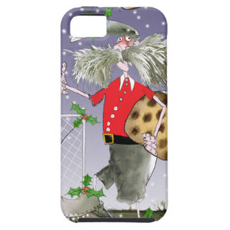 merry xmas football fans iPhone 5 cases