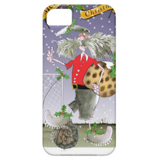 merry xmas football fans iPhone 5 cover