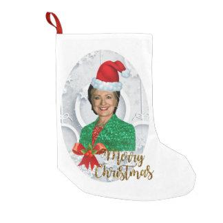merry xmas Hillary clinton stocking