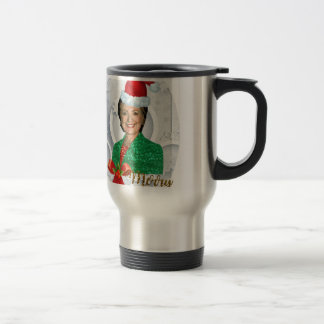 merry xmas Hillary clinton Travel Mug