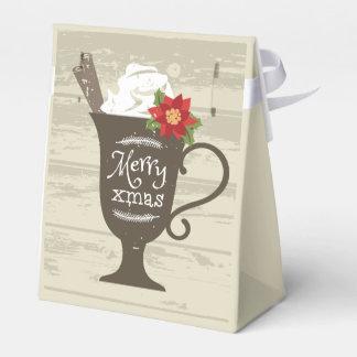 Merry Xmas Holiday Ice Cream Favor Box