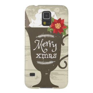 Merry Xmas Holiday Ice Cream Galaxy S5 Cover