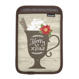 Merry Xmas Holiday Ice Cream iPad Mini Sleeve