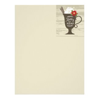 Merry Xmas Holiday Ice Cream Personalized Letterhead