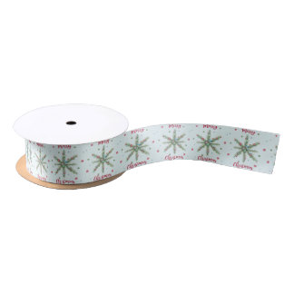 Merry Xmas Satin Ribbon