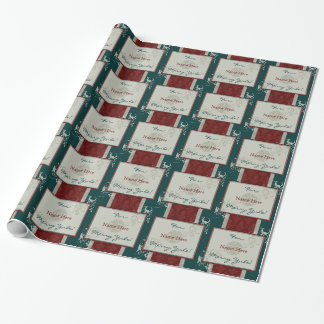 Merry Yule Wrapping Paper