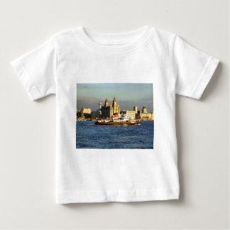 Mersey Ferry & Liverpool Waterfront Baby T-Shirt