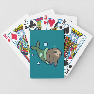MerSloth Bicycle Playing Cards