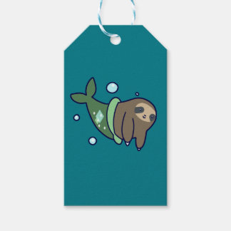 MerSloth Gift Tags
