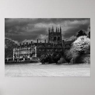 Merton College Oxford Poster