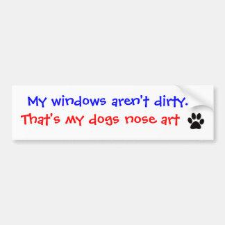 Mes fenêtres ne sont pas sales Adhésif pour pare- Autocollants Pour Voiture