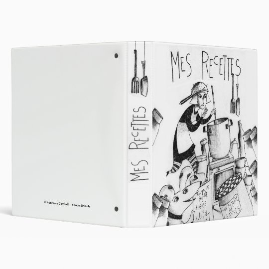 Mes Recettes Vinyl Binders